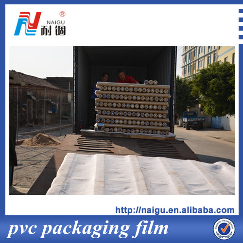 Super Clear Soft PVC Films In Roll for mattress