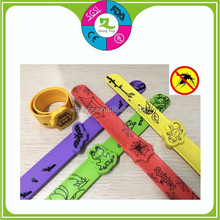 Fasion silicone mosquito repellent bracelet/baby silicone mosquito brand