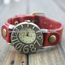 Retro style Personality leather Watch,watches women