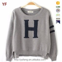 Ladies wool Pullover Latest Designs Sweater for Woman