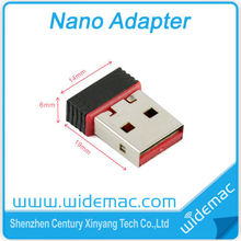 Low Cost Nano 150Mbps WiFi USB Adapter with Ralink RT5370 chipset (SL-1509N)