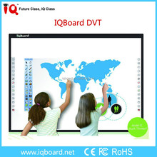 IQBoard DVT manufacturer supplies classroom interactive board with multi-touch