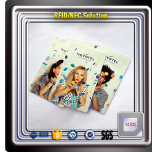 MDH043 hotel smart card hotel keycard Original Hotel Key Card AT24C64 Chip Contact Smart Card