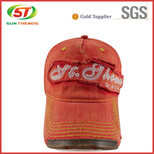 2015 Wholesale Custom Vintage Distressed/Washed Baseball Cap