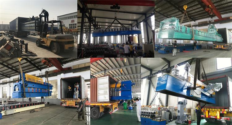 C U Channel Stud And Track Drywall Profile Roll Forming Machine