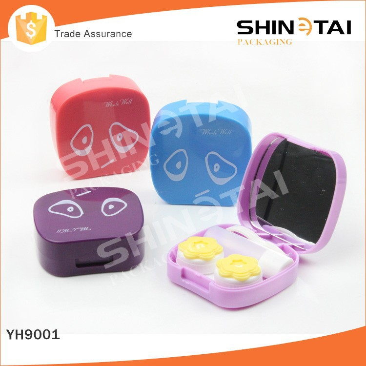 cheap custom plastic contact lens cases