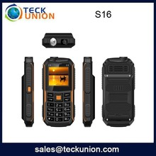 S16 2.4 inch basic china three sim card mobile phone wholesale price mobile phone