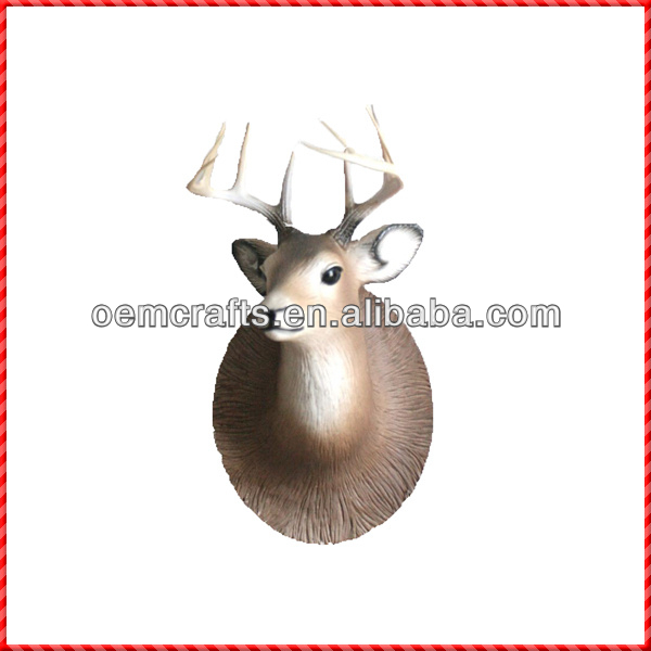 Deer head style of ceramic wall decor stickers