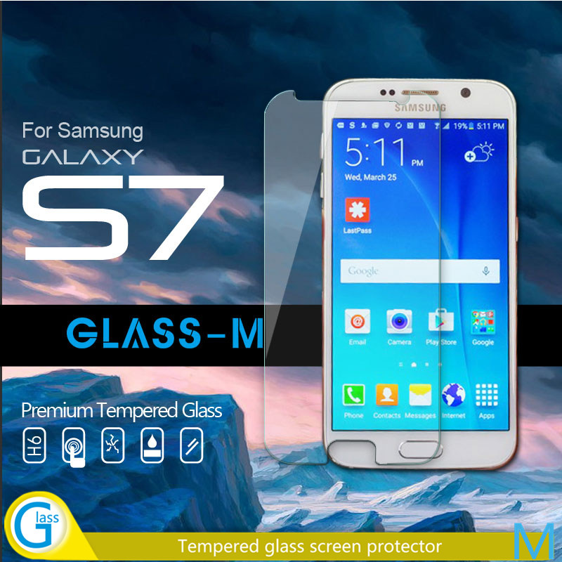 GLASS-M Mobile Accessories Clear Screen Covers for Samsung Galaxy S7