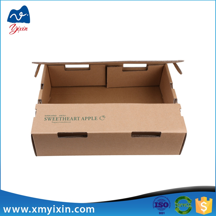 Custom Apple packaging mailing corrugated box manufacturer