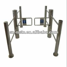 RFID access control keypad 304 stainless steel security swing gate turnstile outdoor
