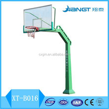 middle /high school inground outdoor basketball stand hoop