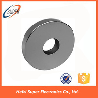 China Manufacture Sintered Ring NdFeB Magnets