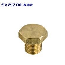 Manufacturer supply precision brass cap for bus pneumatic fittings
