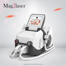 Maglaser promotion price!!Imported lamp portable 3000w IPL SHR hair removal me my elos pro ultra