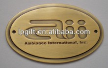 Promotion gift hot sale new fashion gold car emblems