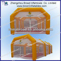 Adversting tent inflatable tennis court tent