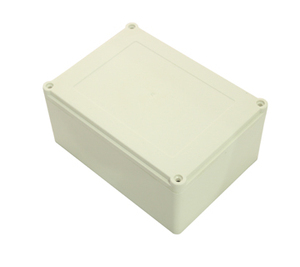Sealed Plastic Electronic Enclosures Custom Waterproof Outdoor Cable TV Junction Box