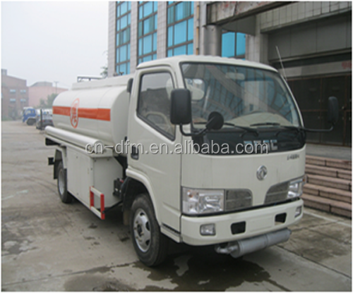 4x2 5 cbm fuel tanker truck for all kinds of oils chemical liquids