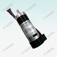 36mm 12v 6v electric motor for boat with planetary gearbox