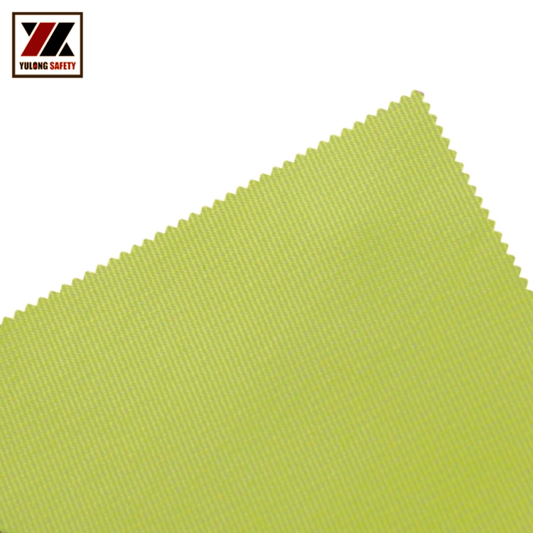 Modacrylic Cotton Hi Viz Flame Retardant Anti-Static Fabric With Good Color Fastness For Clothing