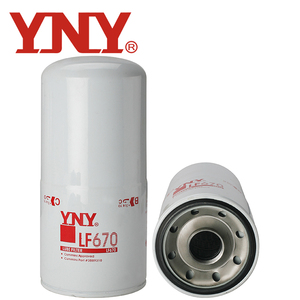 LF670 Hot Sell Truck Engine Oil Filter