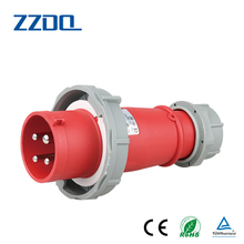 ZZDQ new design IP67 32A 3P+E Industrial plug and socket