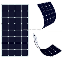FlexSolar best price 12V 100w semi flexible solar panel