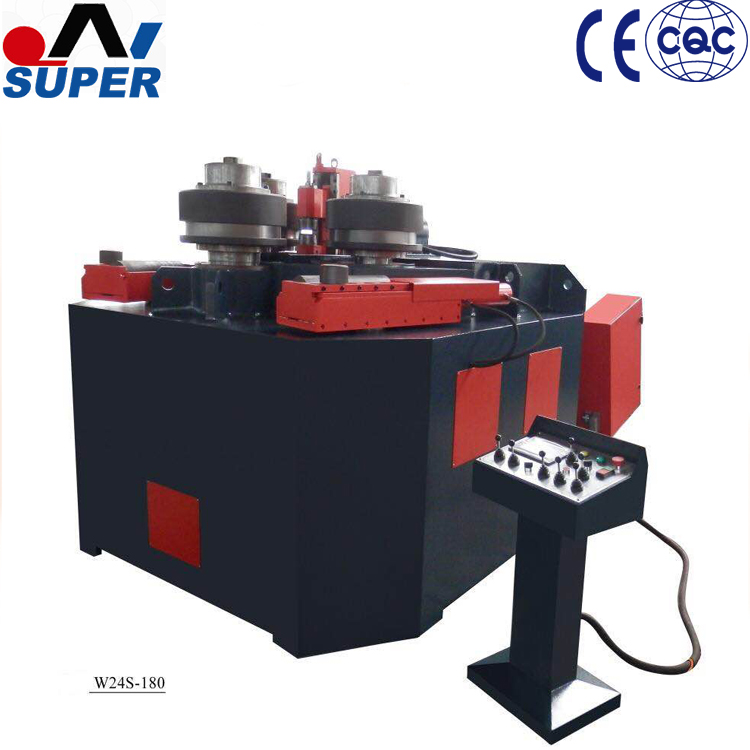 Angle Iron Bending Machine and Section Bending Machines Making For Steel Ring