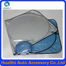 motor sun shade pvc car curtain floating sun shade sun shield for car windshield