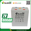 Off grid solar system battery agm 2v 800ah solar battery ups battery