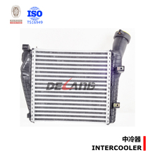 Shanghai Delang auto parts manufacture of water to air intercooler for PORSCHE CAYENNE with OE 7L6145803E(DL-E159)