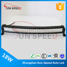 China Manufacture pixel beam 180w 4x4 offroad curved led light bar, double row radius led light bar reflector