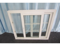 Traditional grills design UPVC sliding windows with mesh