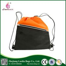 New products custom design folding shopping bag cheap polyester drawstring bags