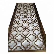 304 stainless steel cardboard room divider screen canvas