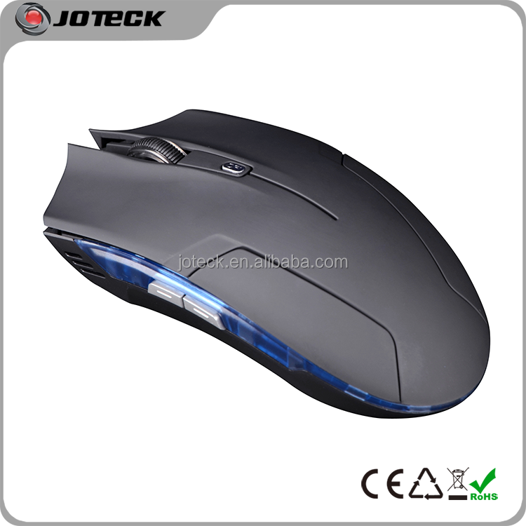 6d flat computer gaming mouse