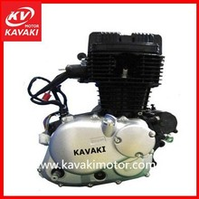 KAVAKI Three Wheel Motorcycle Engine Single Cyliner Electric Start / Kick Engine For Petrol