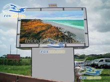 electronic full color outdoor double sided led billboard P10