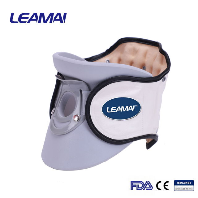 Medical Use Full Flannel Inflatable Air Cushion Neck Traction Device