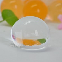 Golf ball size 50mm clear jumbo water marbles