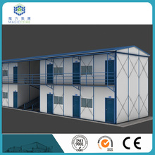 Modern temporary living prefabricated house in uae