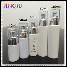 40ml 50ml 60ml 80ml 100ml PETG Plastic Trigger Spray Foundation Liquid Bottle