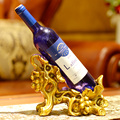 Cheap red wine accessories grape single bottle wine holder