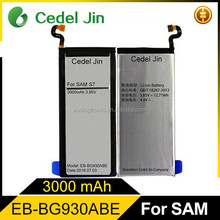 3600mah real capacity mobile phone battery gb 18287-2000 for samsung Galaxy S7 edge