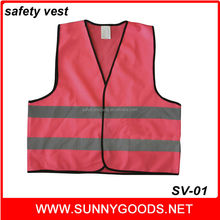 bike highway road red berry safety reflective vest