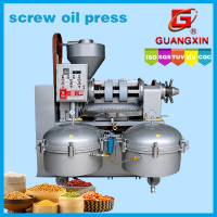 High oil output screw plant seeds oil press machine