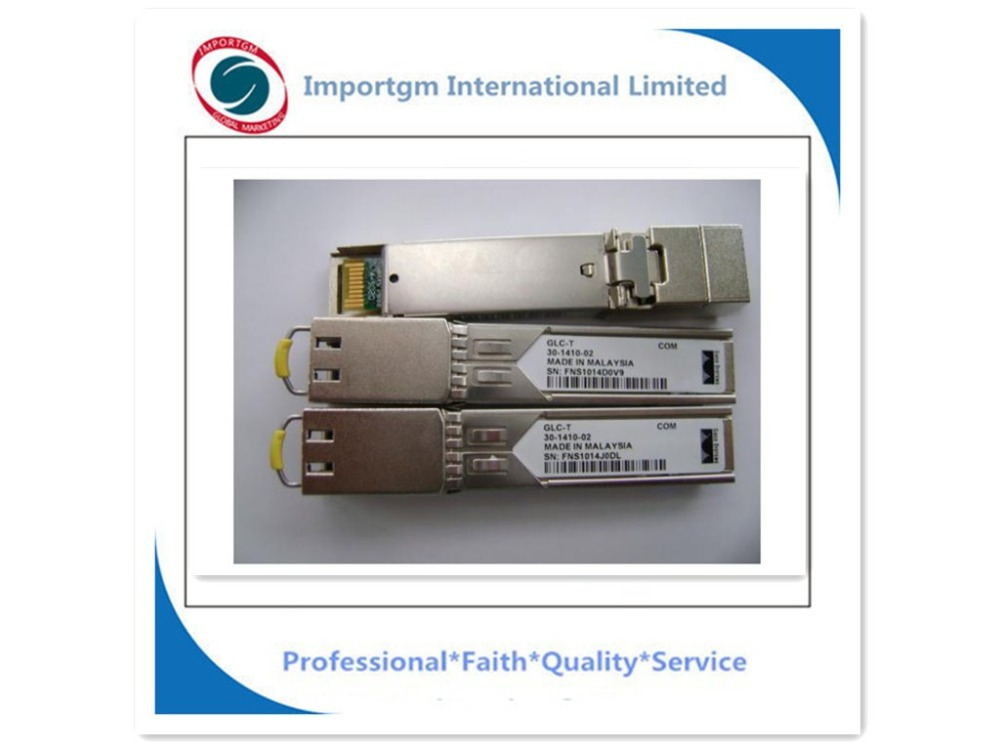Original Sealed SFP 1000BASE-T standard Copper GLC-T