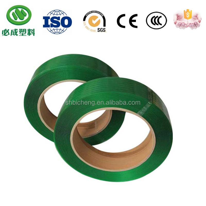 high tension embossed pet taping for wrapping timber