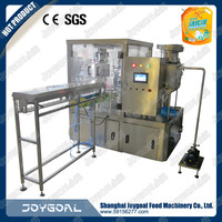 candy weighing filling sealing packaging machine with stand-up zip bags